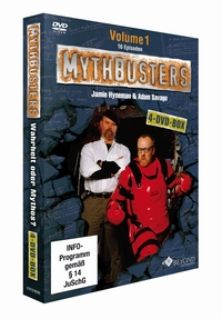 MythBusters DVD Box deutsch